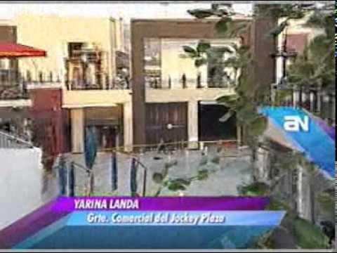 inauguran el boulevard JOCKY PLAZA uno de los mas lujoso en SUDAMERICA