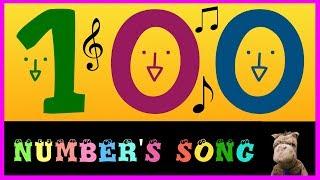 Os números em Inglês aprenda com música 1-100  aprender ingles com musica - english numbers song