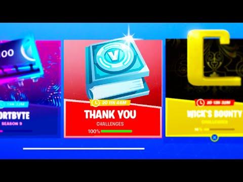4 FREE ITEMS + NEW V-BUCK Rewards in Fortnite! (UNLOCK TODAY)