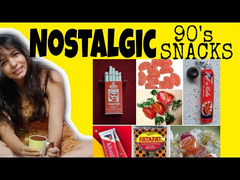All '90s Babies Will Remember These Nostalgic Foods | 90s Indian Kid | Remember Phantom Cigarettes? from YouTube · Duration:  3 minutes 48 seconds