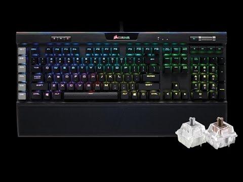 7fe6db34ff5 Corsair K95 RGB Platinum Cherry MX Speed Unboxing & Review - YouTube