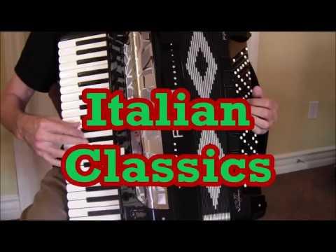 Roland 8x accordion Italian Wedding Tarantella   All Music   No Talk
