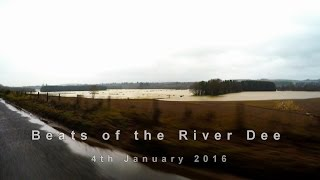River Dee in Flood 4th January 2016