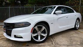 2016 Dodge Charger R/T Start Up/ Detailed Review