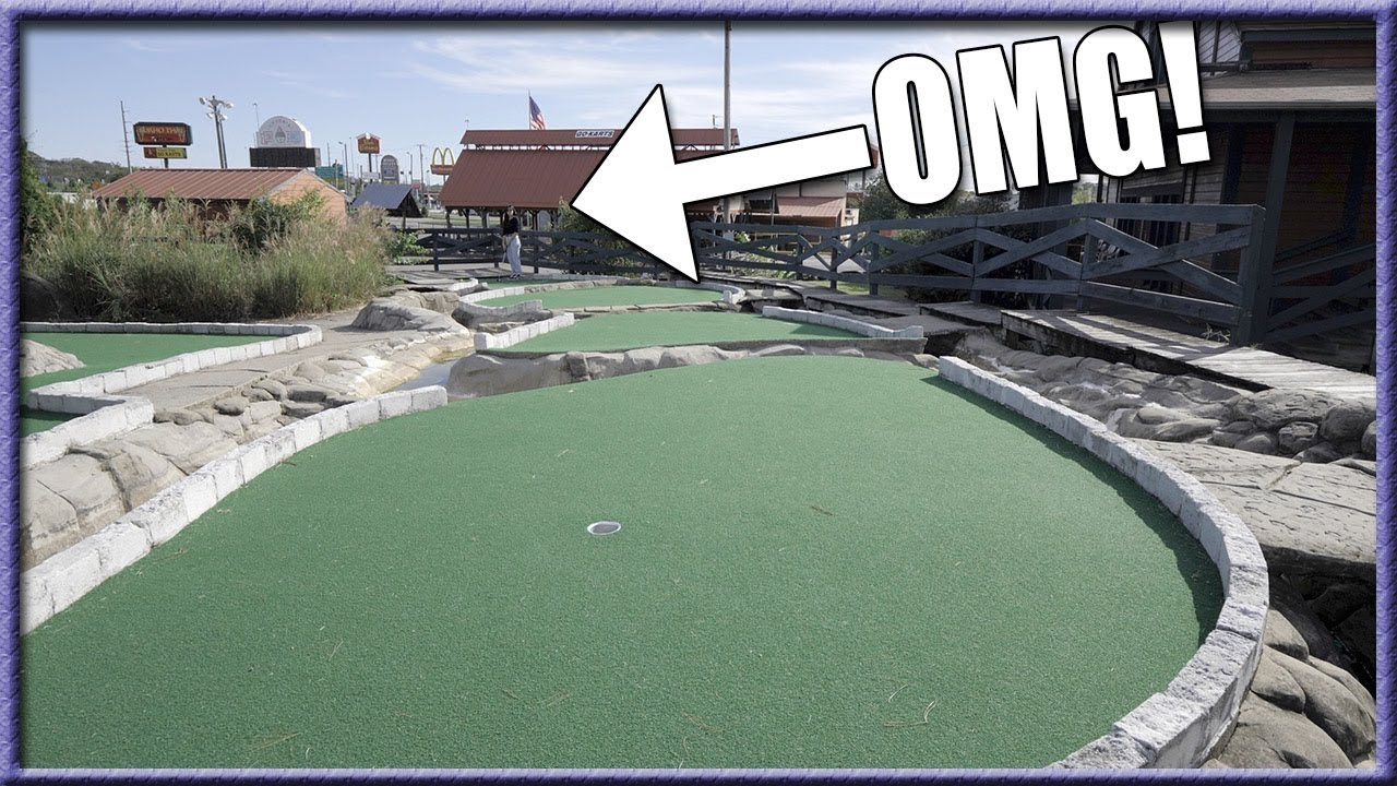 IS THIS THE HARDEST MINI GOLF COURSE IN THE WORLD  B