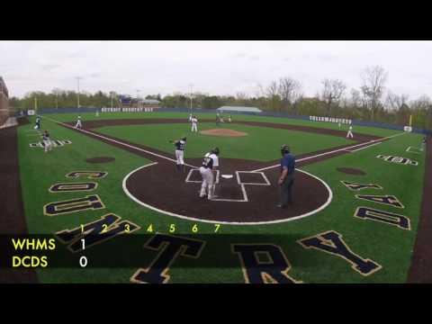 WHMS @ DCDS Baseball