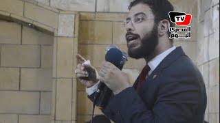 حزب النور يكرم نادر بكار بعد حصوله على ماجستير من «هارفارد»