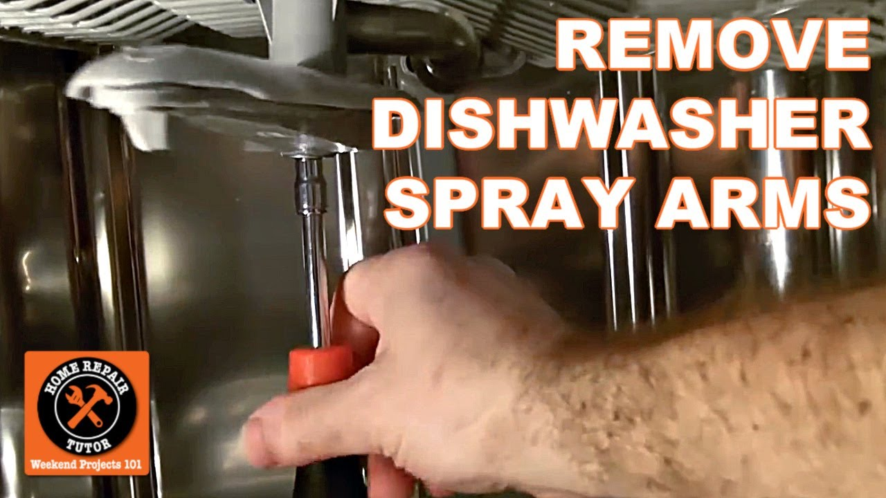 Ge Dishwasher Filter Dishwasher Not Cleaning How To Remove Spray Arms By Home Repair