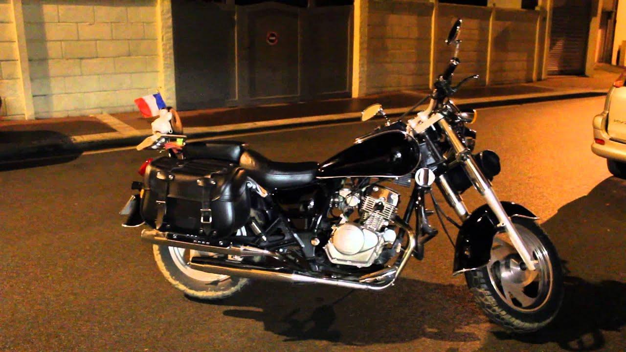 highlander moto custom 125 cc youtube. Black Bedroom Furniture Sets. Home Design Ideas