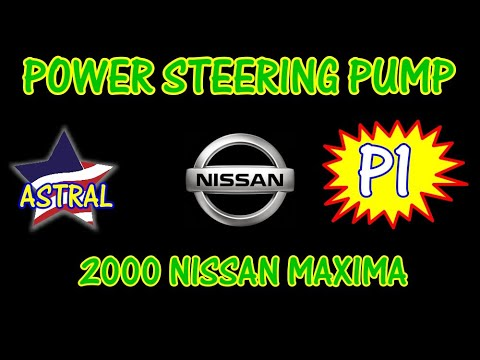 2000 Nissan Maxima Replacing The Steering Pump Part 1