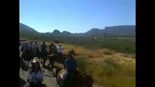 cabalgata cucurpe magdalena Kachorroz de la Sierra