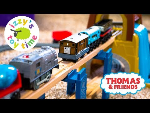 Thumbnail: Thomas Train and Imaginarium Power Rails Hybrid Track! Thomas and Friends | Fun Toy Trains for Kids