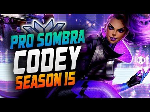 CODEY Pro Sombra! [ OVERWATCH SEASON 15 TOP 500 ] thumbnail