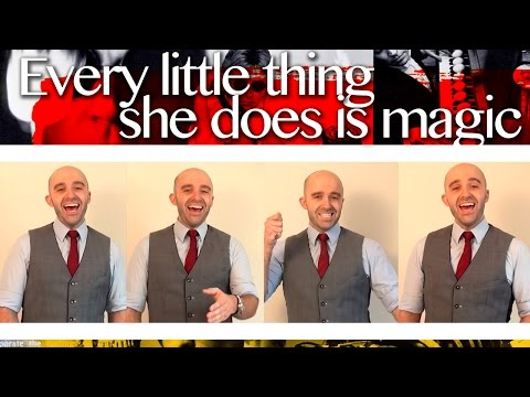 Every little thing she does is magic - Barbershop Quartet
