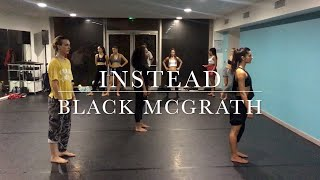BLAKE MCGRATH - Instead - Benoit Tardieu Choreography