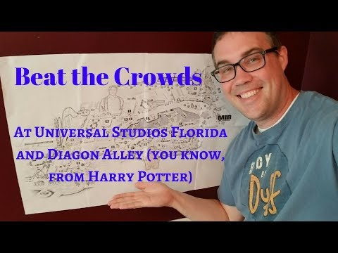 How to Beat the Crowds at Universal Studios Florida