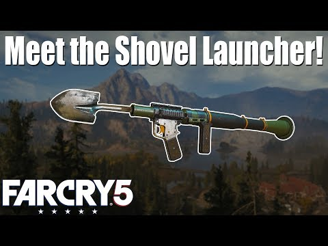 Meet the Shovel Launcher! Far Cry 5 thumbnail