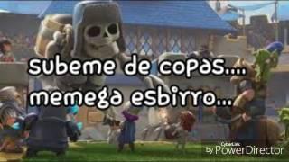 """""""SUBEME DE COPAS"""" CLASH ROYALE + LETRA"""