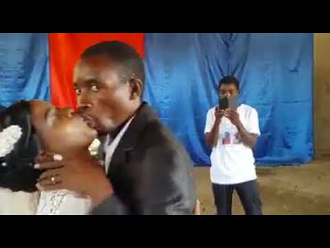 Funny wedding clip- you may now kiss the bride