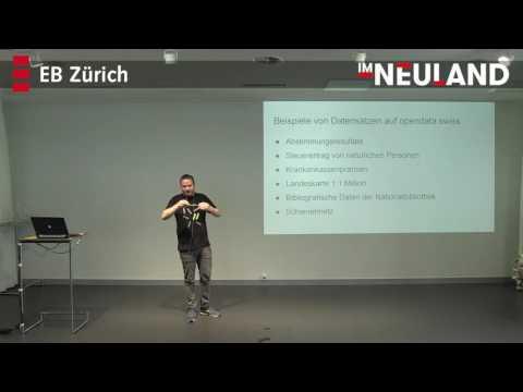 Vortrag Stefan Oderbolz «im Neuland» - Informatiktage 2016