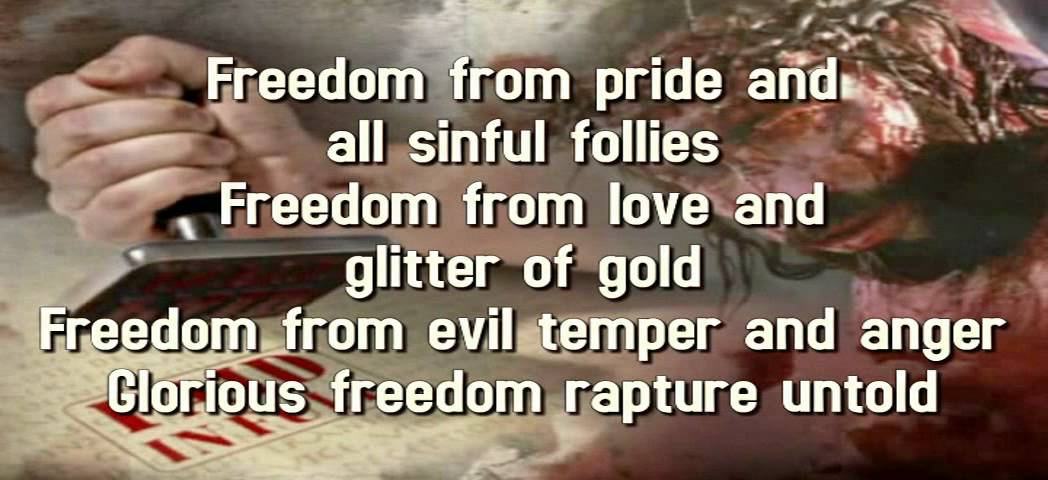 Lyric freedom lyrics gospel : Glorious Freedom(Instrumental) - YouTube