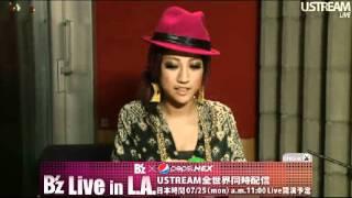 Baixar JASMINE & B'z Live in L.A. 2011