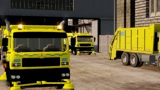 Garbage Truck Mod Road sweeper Mod GTA 4 Civilian Mods