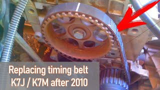Замена ГРМ рено логан после 2010 г в(Замена ремня ГРМ на Рено Логан 1,4-1,6 8ми клапанный (K7J,K7M) после 2010 года выпуска., 2013-01-25T13:53:00.000Z)
