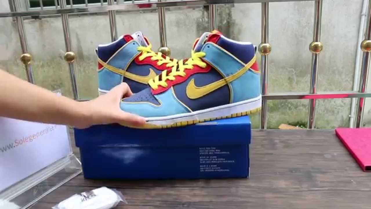 6bbf0212bc08c5 Authentic Nike Dunk High Pro SB MR Pacman HD Review From solegeneral ...