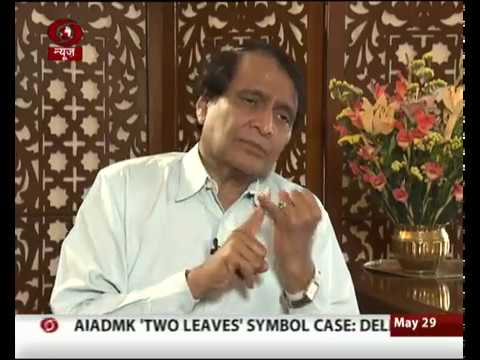 Interview with Union Minister Suresh Prabhu