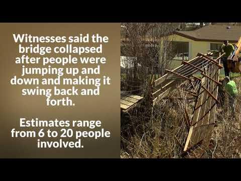Montana suspension bridge torn down after vandalism damage