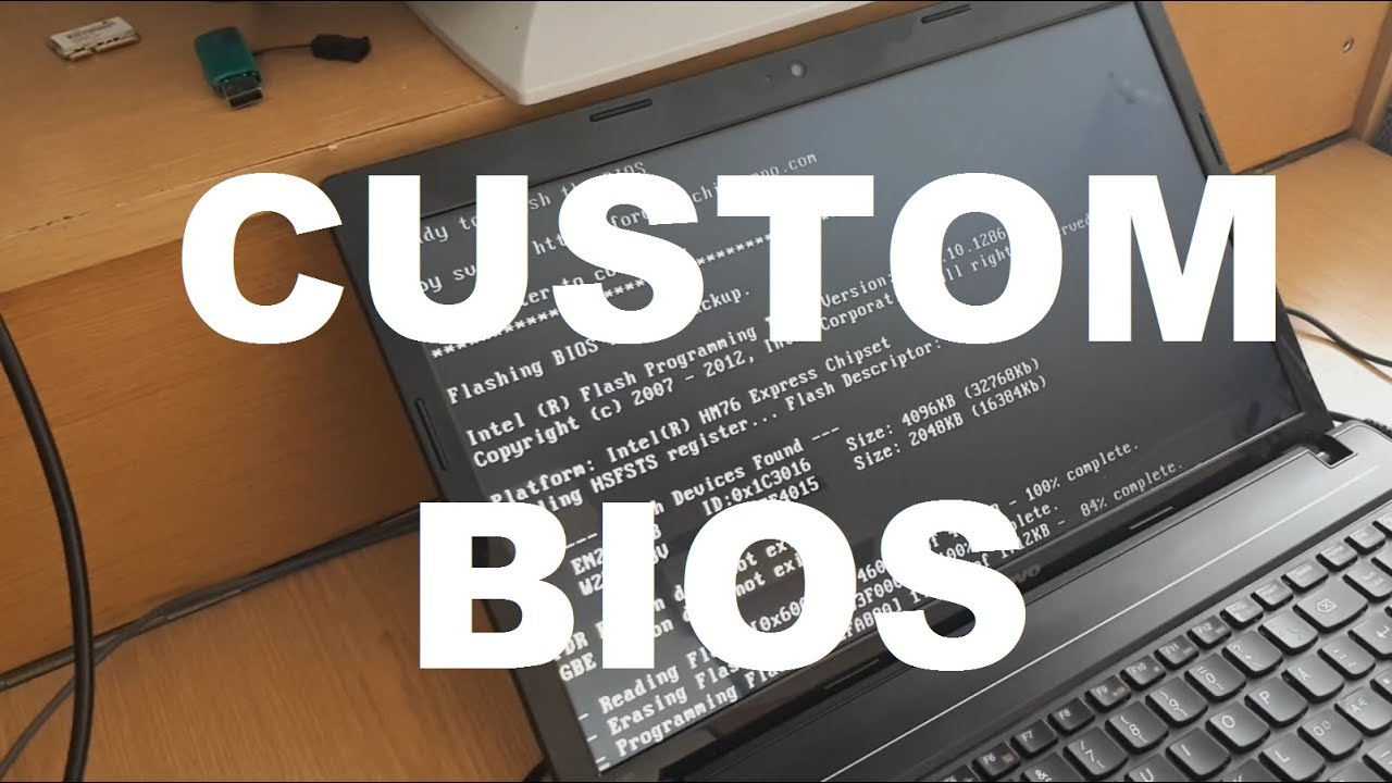 Custom BIOS install WIFI card whitelist bypass Lenovo