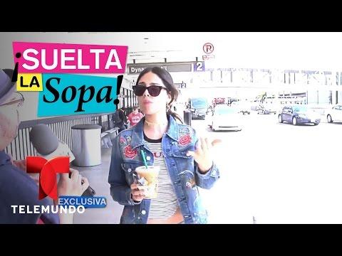 Eiza González aseguró que no conoce a Giovanni Dos Santos | Suelta La Sopa | Entretenimiento