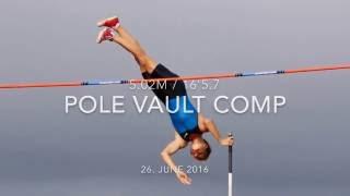 Sondre pole vault 5.02m/16'5.7