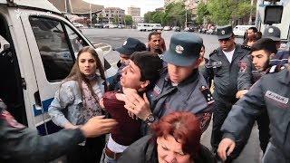 «Երազով» բերման ենթարկելուց մինչև պաղպաղակի բաժանում. ցույցի հերթապական օրը Երևանում
