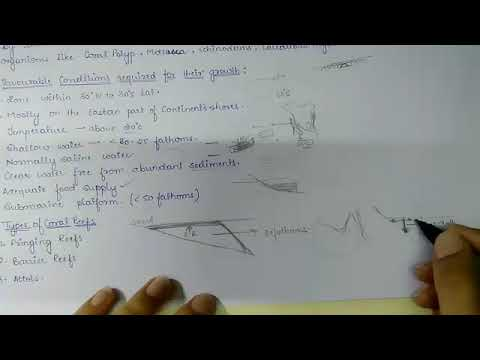 Marine pollution, Coral reefs, Coral bleaching and Law of Sea (part-6 OCEANOGRAPHY)