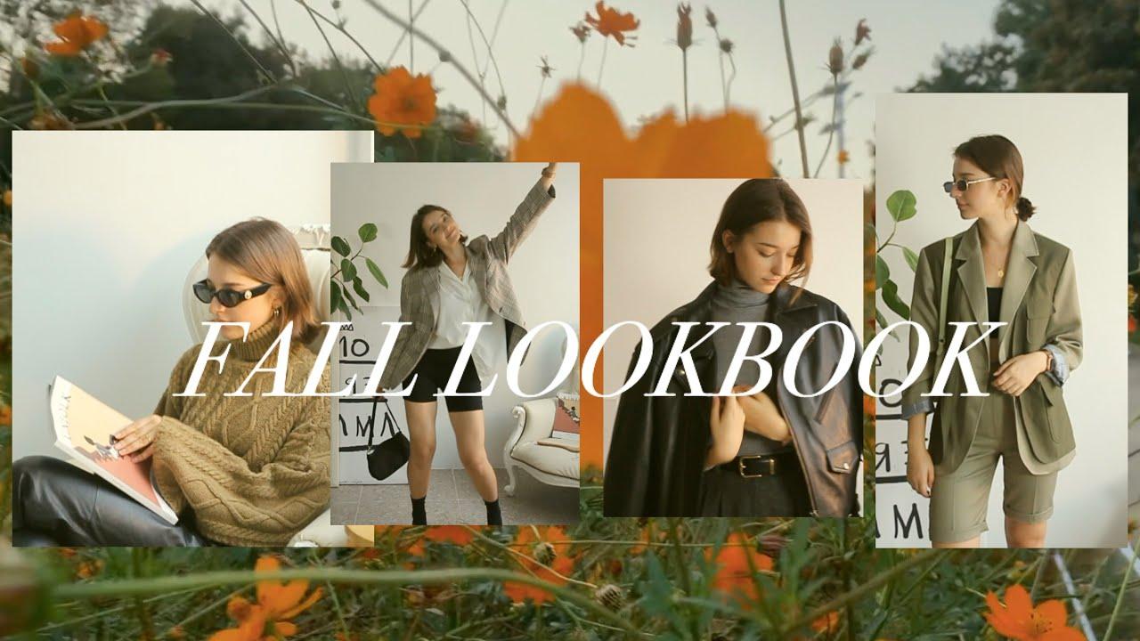 [VIDEO] - KOREAN FALL FASHION lookbook   안젤리나의 가을 패션 7