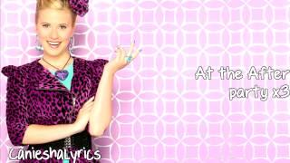 Roshon Fegan & Caroline Sunshine - After Party (Lyrics Video) HD