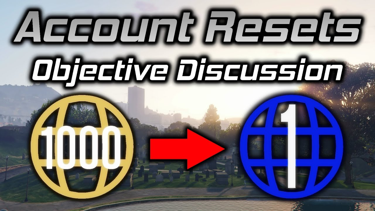 GTA Online: An Objective Discussion About The Account Resets