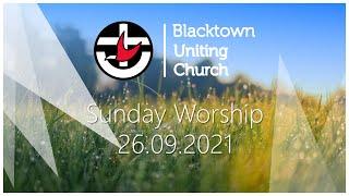 Sunday Worship - 26.09.2021