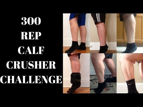 300 Calf Raises A Day For 30 Days!!! | Get Bigger And More Defined Calves  In 30 Days!!! | Challenge