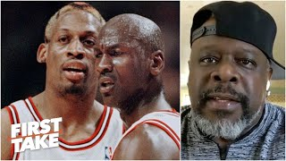 Bulls fan Cedric the Entertainer on the 'The Last Dance' & MJ's Pistons rivalry | First Take