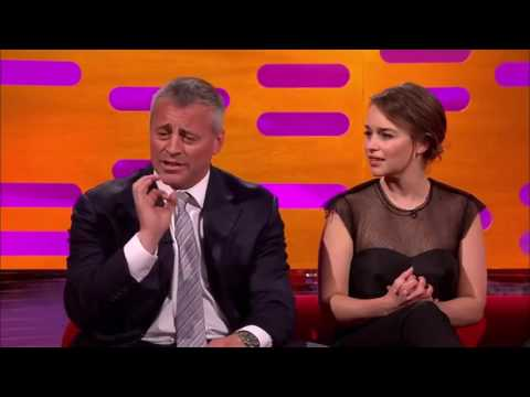 The Graham Norton  S19E10  Matt LeBlanc, Emilia Clarke, Kate Beckinsale, Dominic Cooper