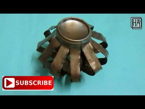 Waste material craft idea||empty drinks can||easy and DIY idea||