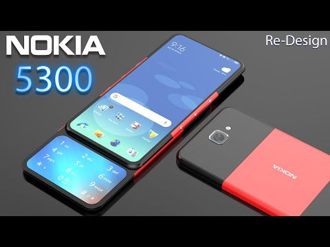 Nokia 5300 Re-Design Concept Introduction