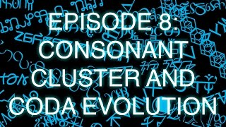 the art of language invention episode 8 consonant cluster and coda evolution