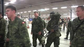 Mass troop brief and airborne operation prep, Steadfast Javelin II