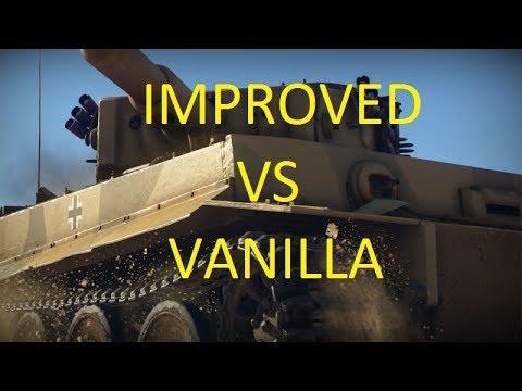 """Improved Sound Mod""(WiP) vs Vanilla Sound - War Thunder"