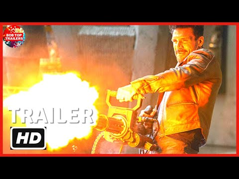 BOSS LEVEL –  TRAILER 2 LEGENDADO  – Trailer do Filme Boss Level – Mel Gibson –  Frank Grillo – 2021
