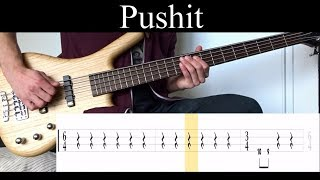 Pushit (Tool) - Bass Cover (With Tabs) by Leo Düzey